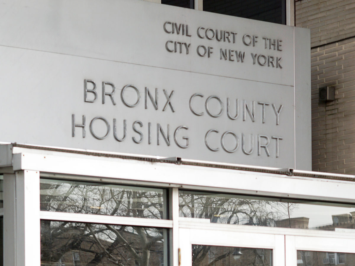 Thirty percent of New York City tenants facing eviction now have lawyers, and all eligible tenants should be receiving help by 2022, says Department of Social Services Commissioner Steven Banks.
