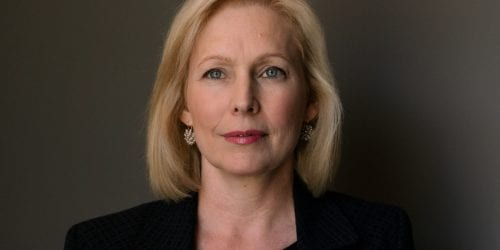 Sen. Kirsten Gillibrand, D-N.Y., says if she becomes president she would only appoint judges and justices who would maintain Roe v. Wade.