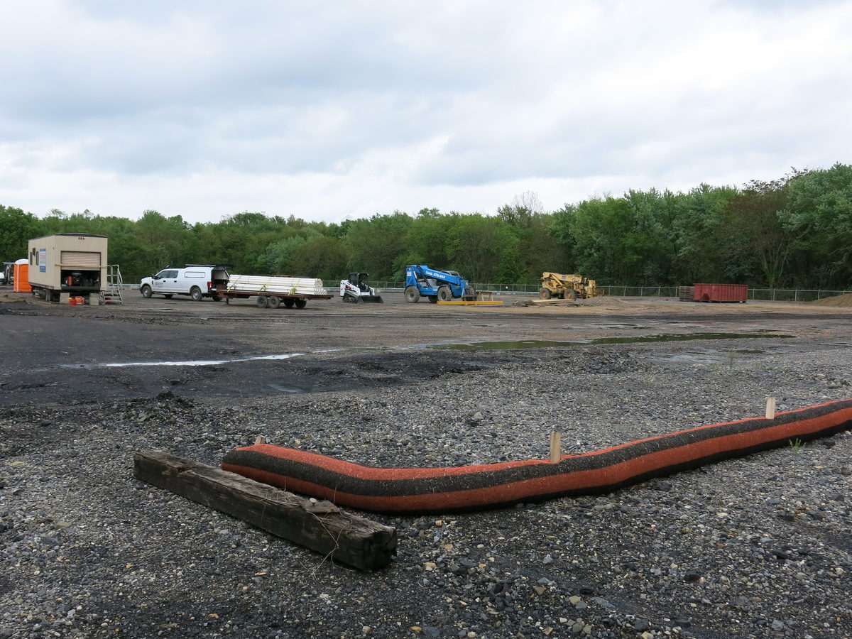 Part of the old coal power plant site in Shamokin Dam, Pennsylvania, will house a marijuana growing facility, slated to start operating next year.