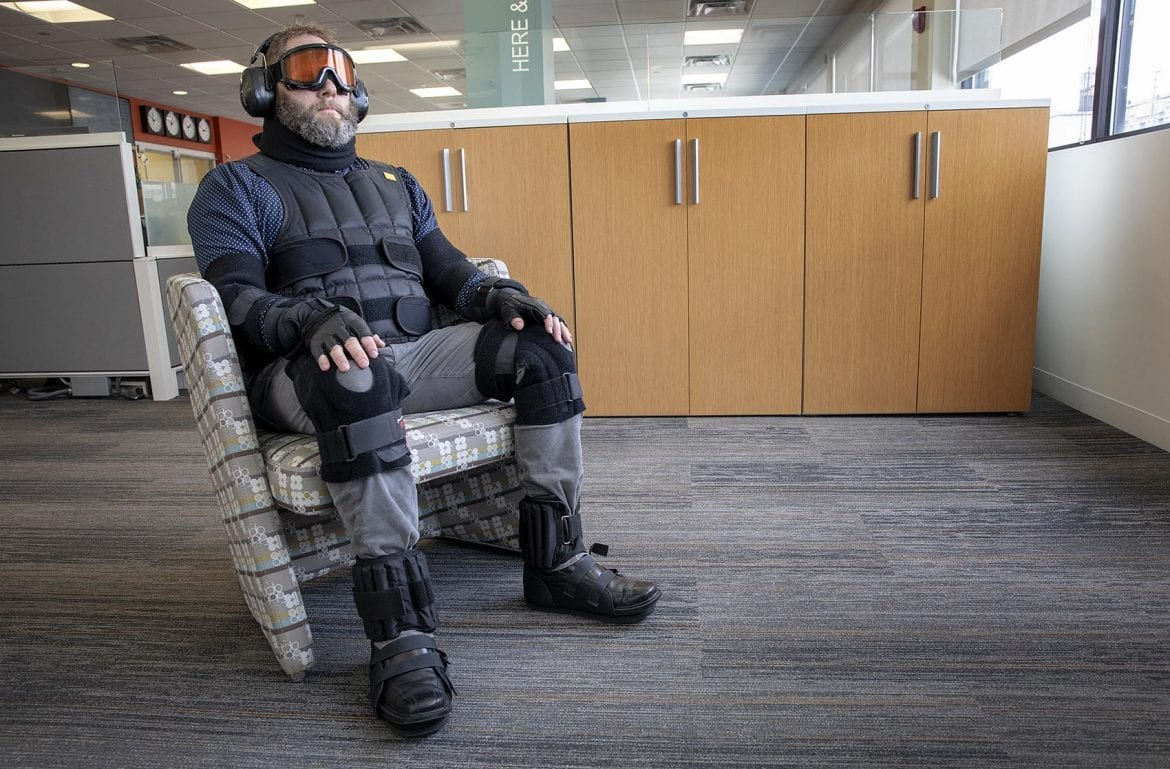 40 Years In 5 Minutes: Age Simulation Suit Aims To Increase Empathy In Building Design
