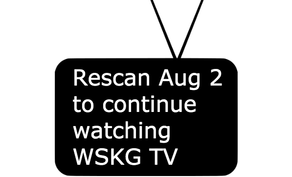 WSKG TV Rescan Day is August 2 | WSKG