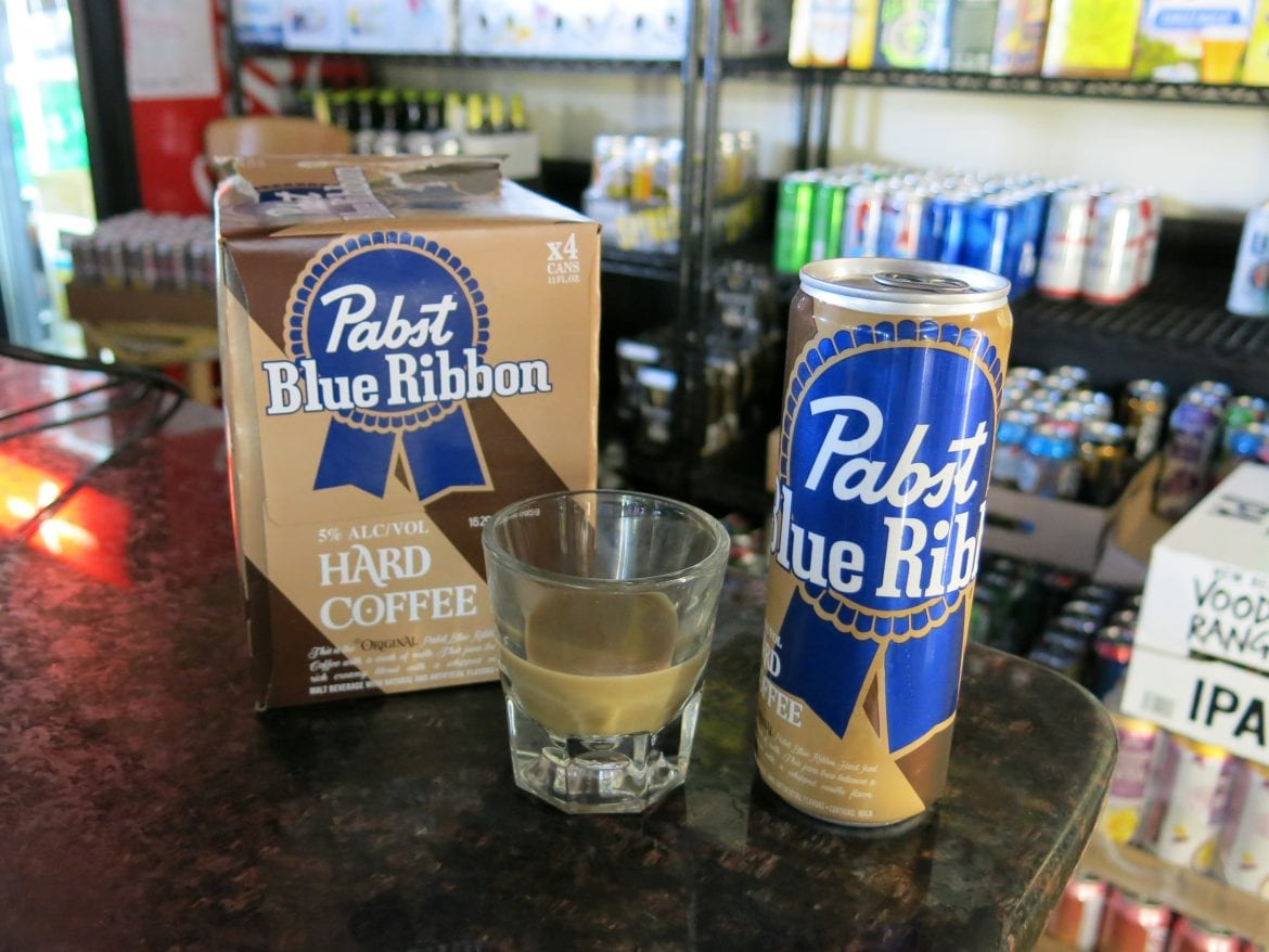 Big breweries are selling less beer, so they're getting creative to attract customers. Pabst Blue Ribbon is market testing hard coffee in Pennsylvania, New Jersey, Maine, Georgia and Florida.