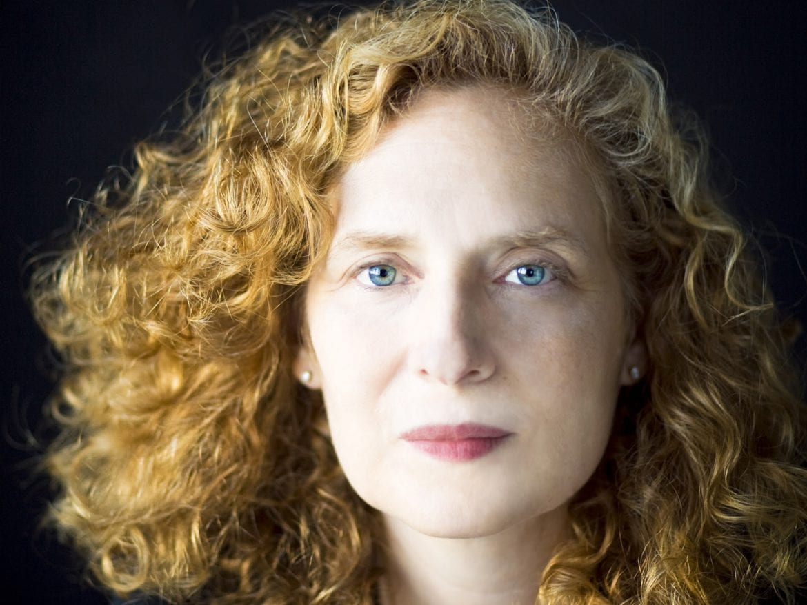 "Composer Julia Wolfe, winner of one of this year's MacArthur Foundation ""genius grants."""