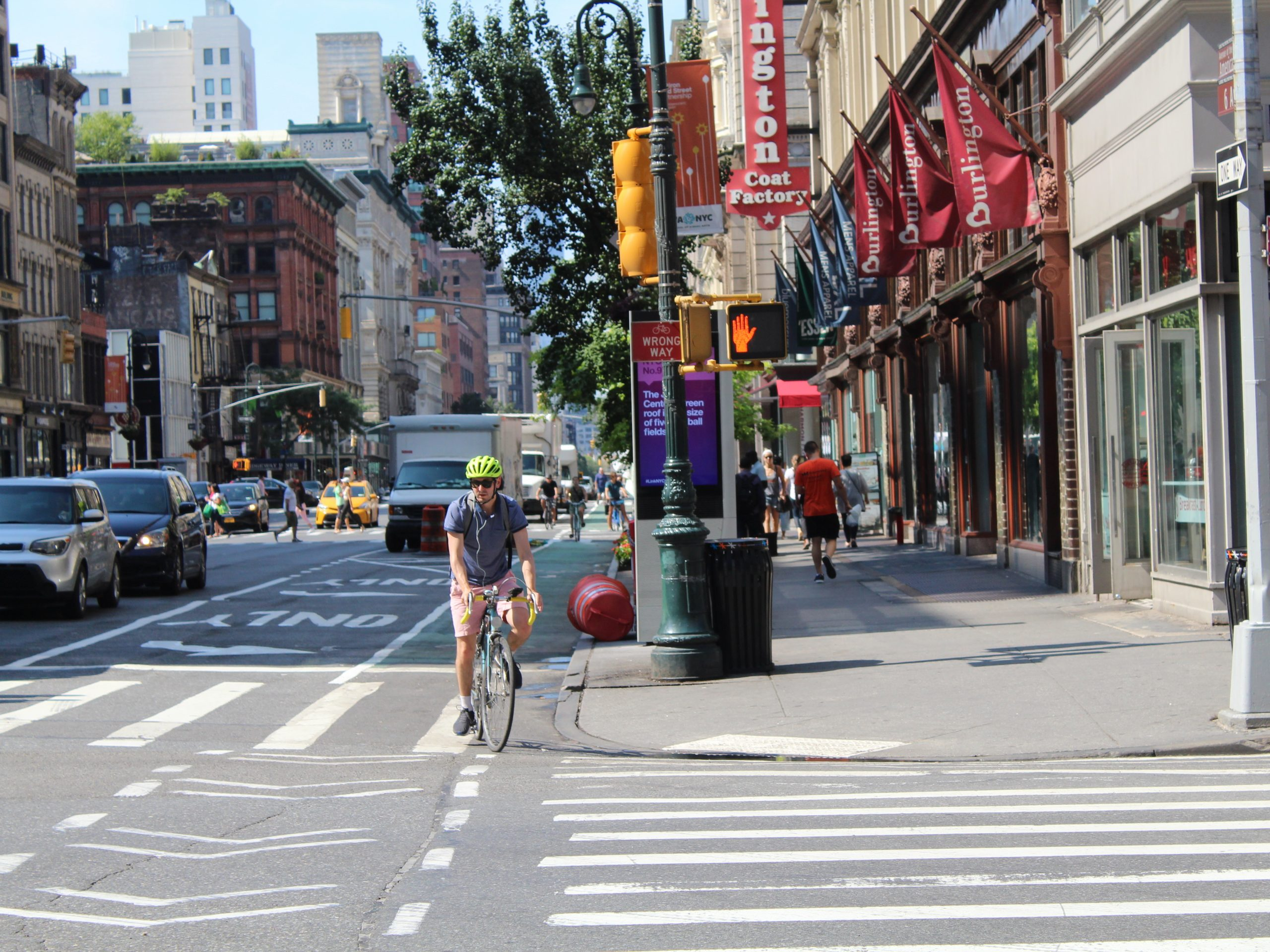 New York City has more than 6,000 miles of streets. Fewer than one in five has a bike lane.