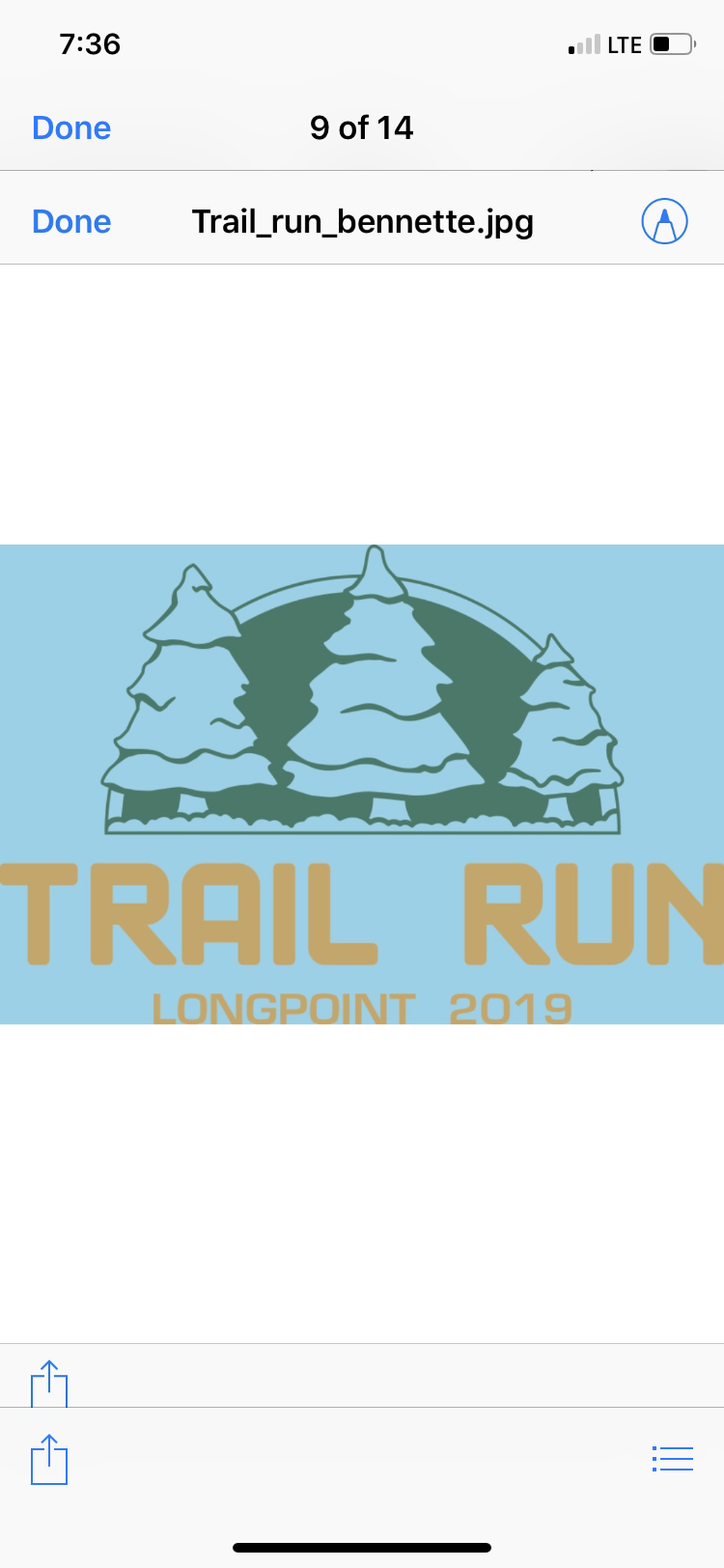 Long point trail 5K and 1 mile fun runWSKG