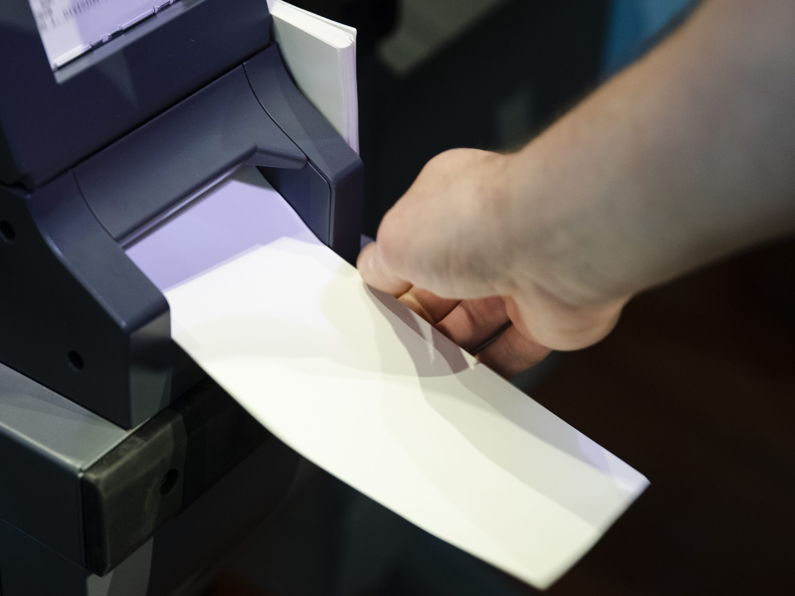 An ExpressVote XL voting machine demonstration in Philadelphia. Advocates say paper ballots are good, but not sufficient, in a new era of security challenges.