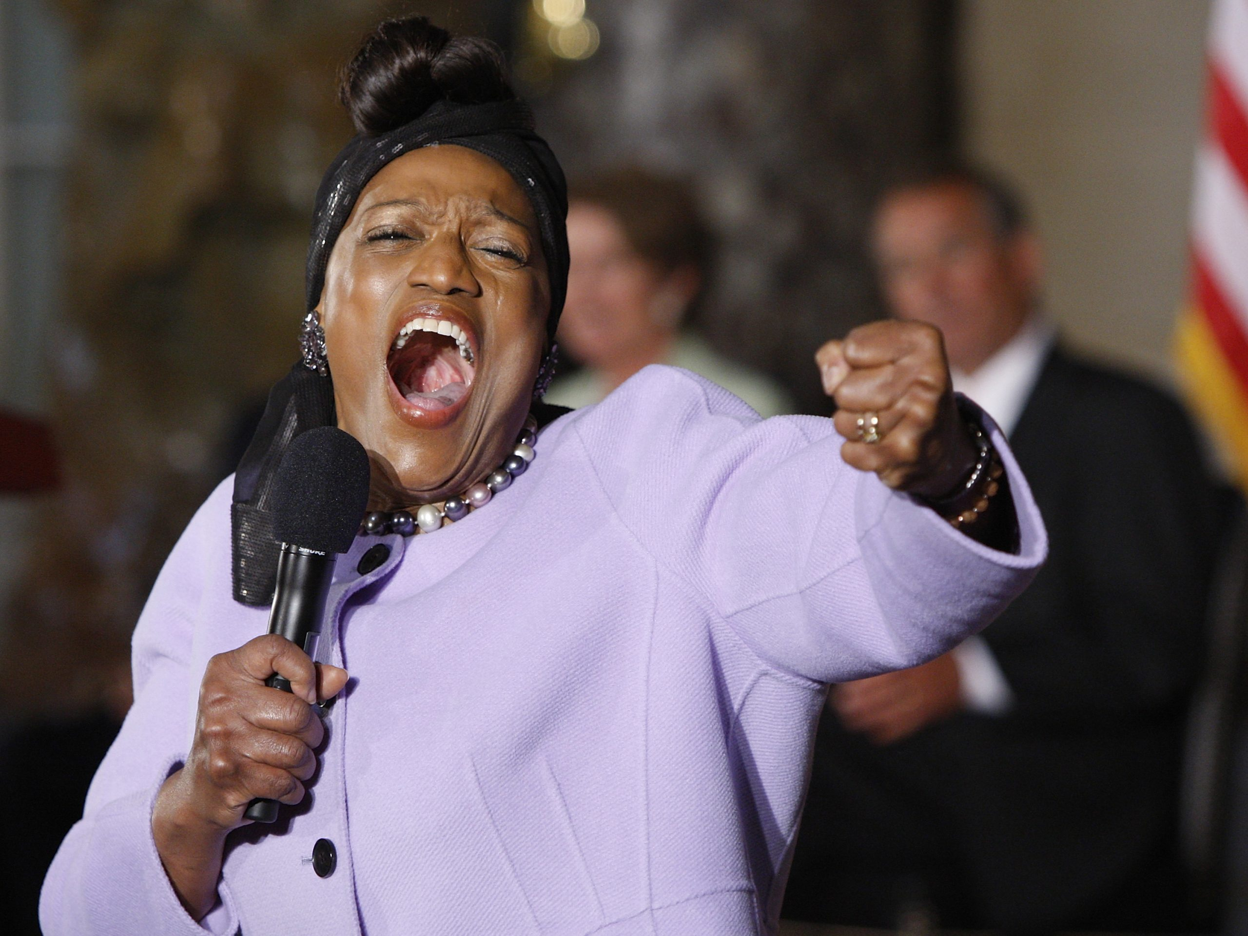 Jessye Norman performs at a ceremony on the 50th anniversary of the March on Washington for Jobs and Freedom at the U.S. Capitol in 2013.