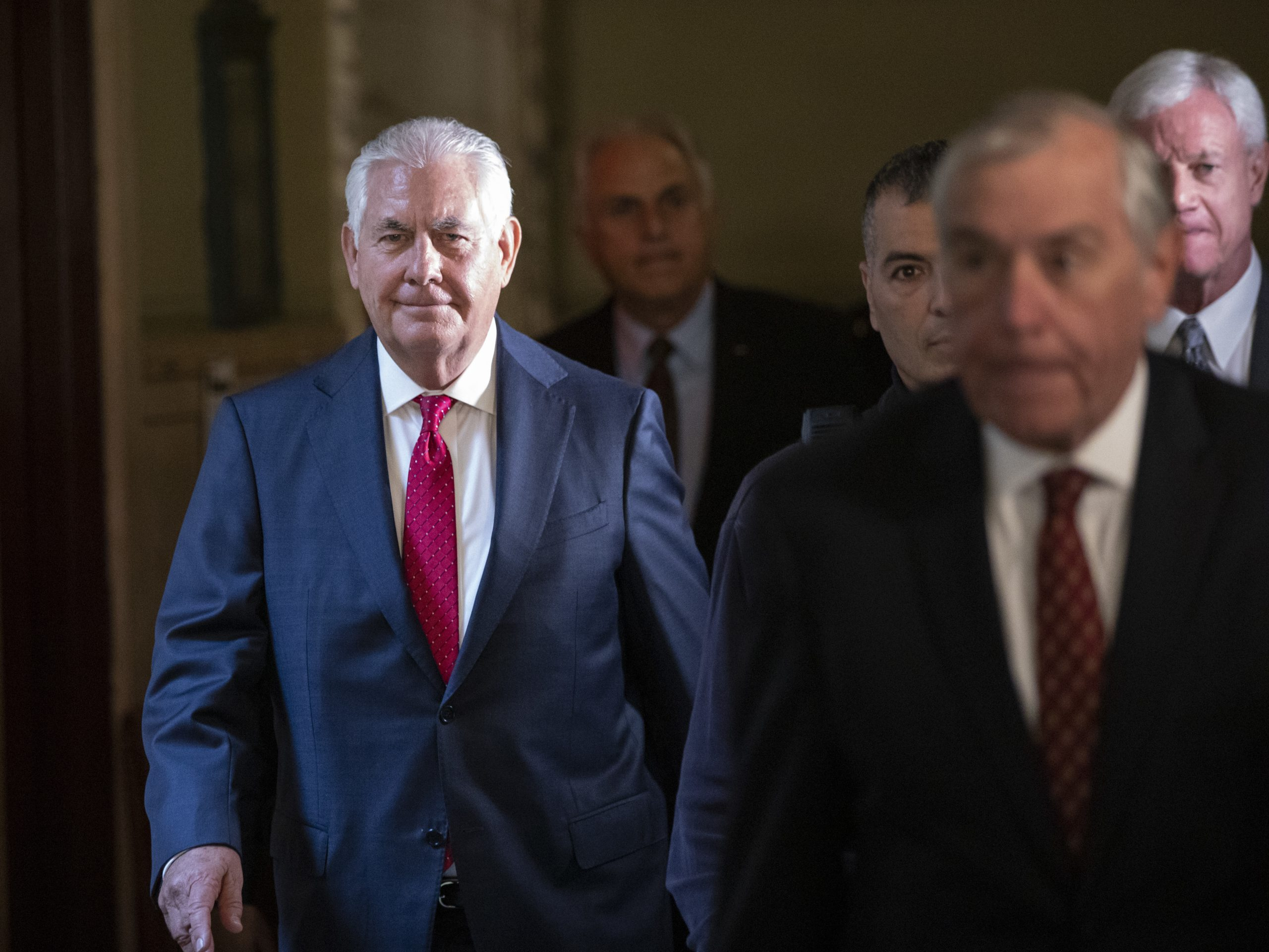 Former Exxon CEO Rex Tillerson testified that the company used different carbon accounting methods appropriately.