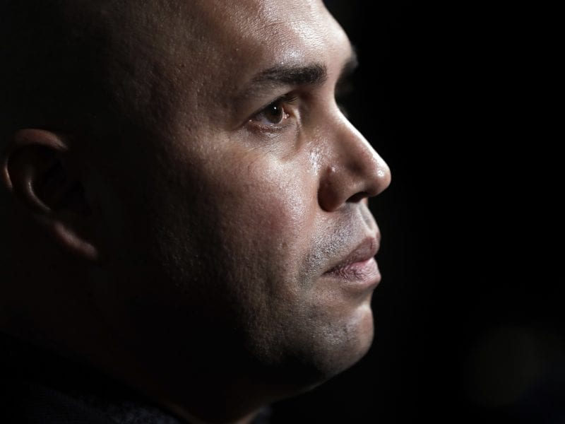 Carlos Beltrán is out as manager of the New York Mets. The team announced the move Thursday.