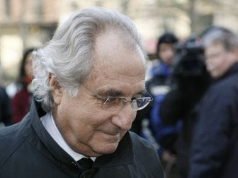 Bernie Madoff, shown here arriving at a court session in 2009, is currently being held at FMC Butner, a federal prison in North Carolina.