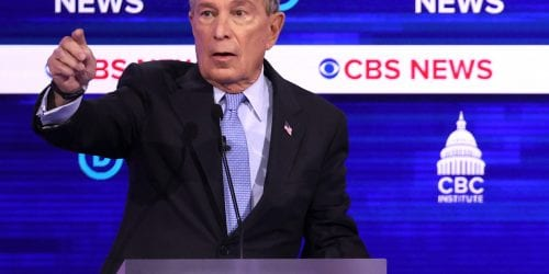 "Former New York City Mayor Mike Bloomberg defended the ""stop-and-frisk"" policy for years, until he launched his presidential bid."