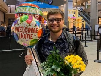 Daniel Wethli got a warm welcome from his mom and dad at the Pittsburgh airport last week after clearing two weeks of quarantine in Southern California. He was studying in Wuhan when the novel coronavirus shut the city down, but never showed any signs of infection.