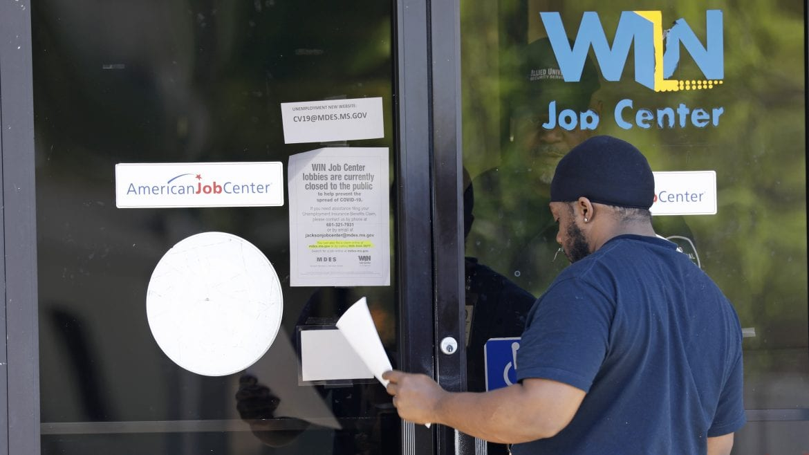 ME unemployment claims hit new record high