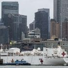 The USNS Comfort hospital ship, which is docked at a Manhattan pier, is adjusting its procedures to accept patients more quickly. The ship is intended to accept non-coronavirus referrals from New York hospitals.