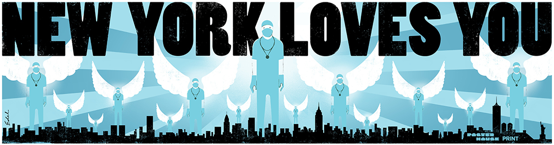 """""""New York Loves You"""" by Edel Rodriguez"""