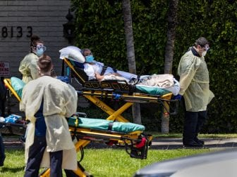 All 84 residents of Magnolia Rehabilitation and Nursing Center in Riverside, Calif., were evacuated from the facility in early April after 39 residents tested positive for the coronavirus.