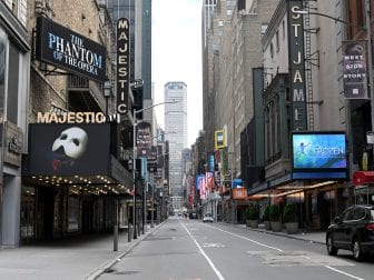 The Broadway League announced today that theaters will remain closed until June 7, effectively ending the 2019-2020 season.