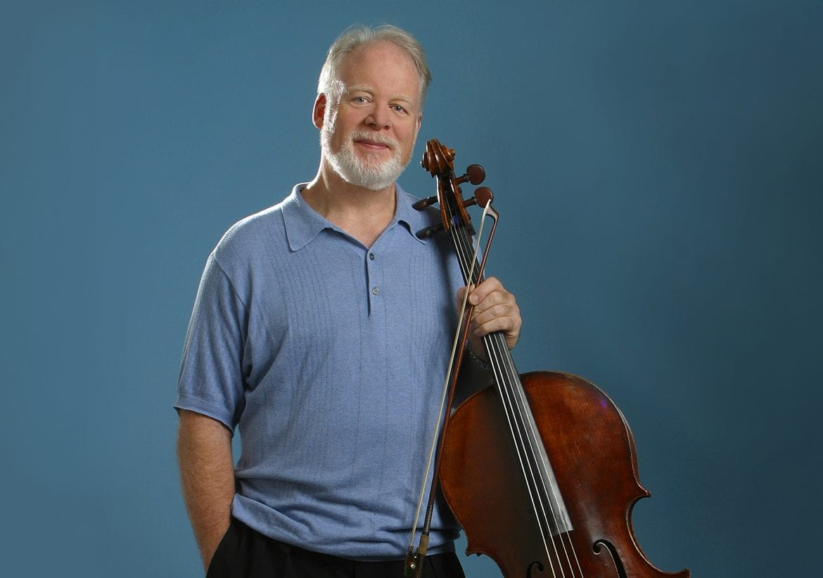 An undated portrait of the cellist Lynn Harrell. Harrell died Monday at age 76.