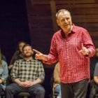"""Colin Quinn says performing on virtual platforms won't ever come close to appearing in a club full of strangers because it lacks """"the tension"""" of the live experience. He's writing a book that draws from some of the material he explored in his Red States Blue States special — and says he now has no excuse not to finish it."""