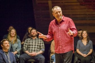 "Colin Quinn says performing on virtual platforms won't ever come close to appearing in a club full of strangers because it lacks ""the tension"" of the live experience. He's writing a book that draws from some of the material he explored in his Red States Blue States special — and says he now has no excuse not to finish it."