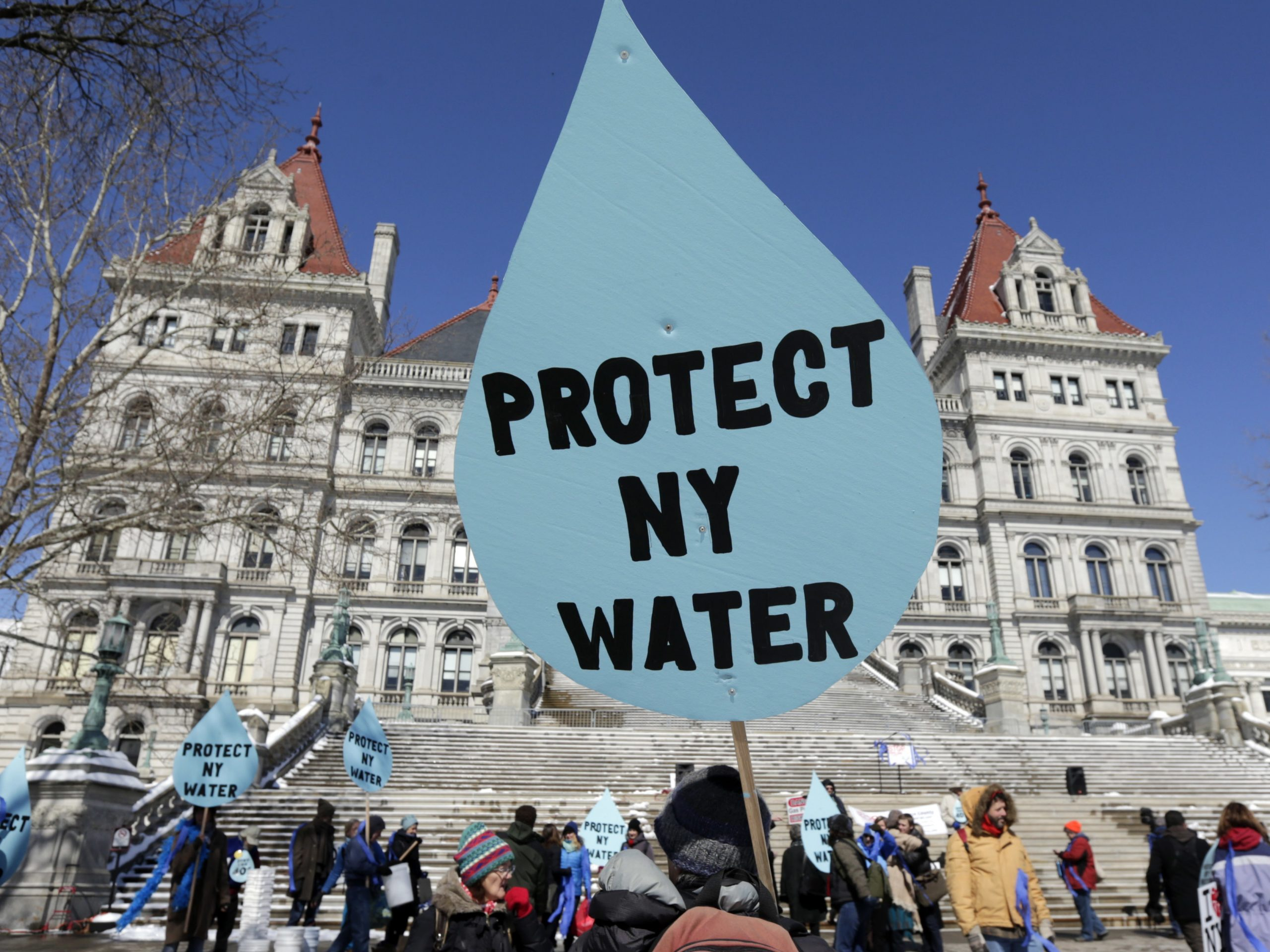After years of protests against the Constitution Pipeline, New York recently denied a key water quality permit for the project. A new EPA rule would make it harder for states to do that.