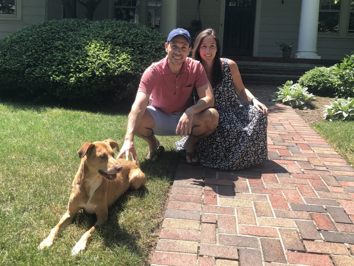 Until recently, Miriam Kanter and Steven Kanaplue were living in a one-bedroom apartment on Manhattan's Upper West Side with their dog Booey. The pandemic clinched their decision to move to Montclair, N.J.