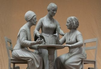 New Suffrage Statue Will Be Central Park's Only Monument To Honor Real Women