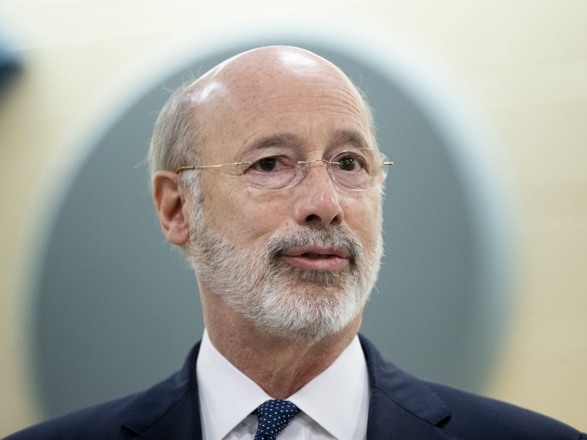 Some of the revenue from recreational marijuana sales would go toward historically disadvantaged businesses, Pennsylvania Gov. Tom Wolf says. Wolf is calling for legal pot sales as part of a plan to help Pennsylvania's economy recover from the COVID-19 pandemic.