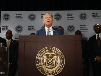 Manhattan District Attorney Cyrus Vance Jr., shown here in 2019, is in possession of former President Donald Trump's tax returns.