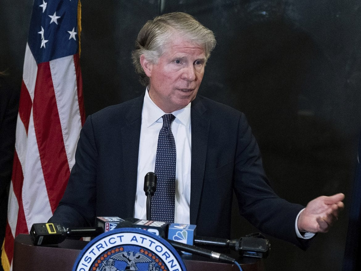 Cyrus Vance Jr., who has been Manhattan's district attorney since 2010, said Friday that he will not seek reelection.