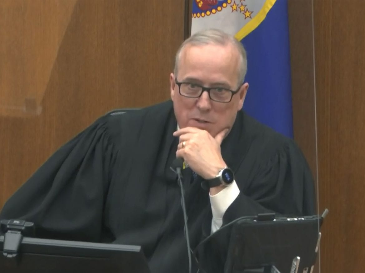 Chauvin Trial Judge Denies Request For Jury Sequestration ...