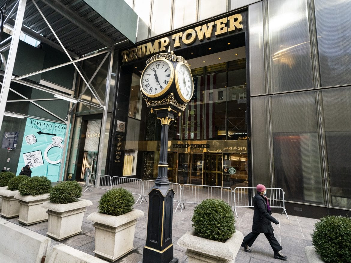 """The Trump Organization is headquartered in New York's Trump Tower. The New York attorney general is now investigating the Trump Organization """"in a criminal capacity"""" along with the Manhattan district attorney."""