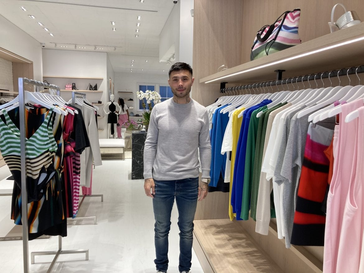 Jesse Dong opened the clothing retailer Two Minds in Manhattan's Meatpacking District a few weeks ago. He considers it his dream space.