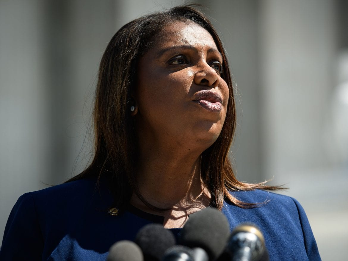 New York Attorney General Letitia James' investigation into the Trump Organization has expanded into a criminal probe, her office confirmed.