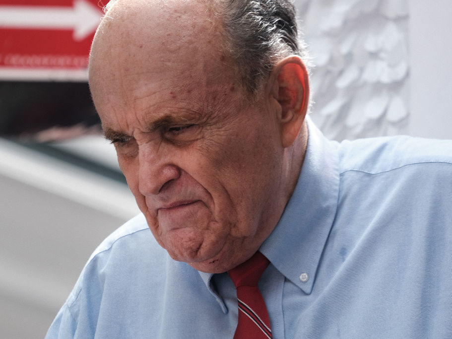 Former New York City Mayor Rudy Giuliani has been suspended from practicing law on an interim basis over his role in pushing false voter fraud claims. He will be afforded a chance for a post-suspension hearing to challenge the court decision.