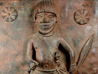 Junior Court Official is one of two 16th-century plaques produced at the Court of Benin that will be returned to Nigeria by the Met.