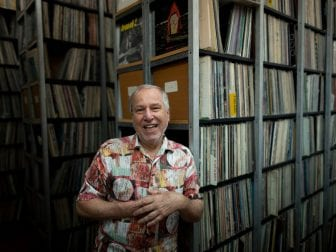 Bob George, the founder and director of the Archive for Contemporary Music.